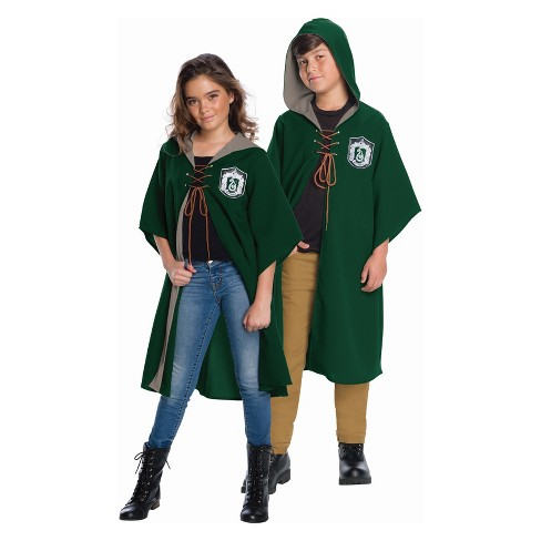 1606058793c Kids' Harry Potter Slytherin Quidditch Robe Halloween Costume