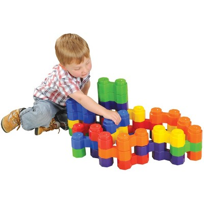 Kaplan Early Learning Jumbo Double Octagon Builders  - 36 Pcs