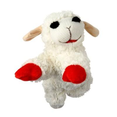 "Multipet Lamb Chop Dog Toy - 10.5"""