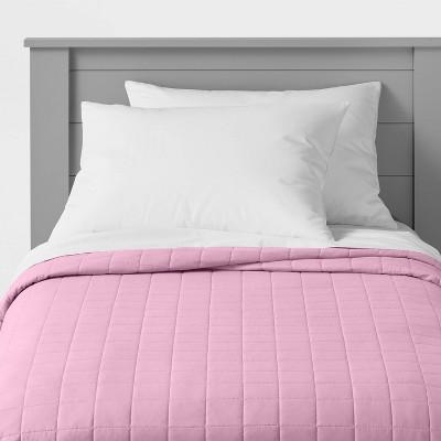 Box Stitch Microfiber Quilt - Pillowfort™