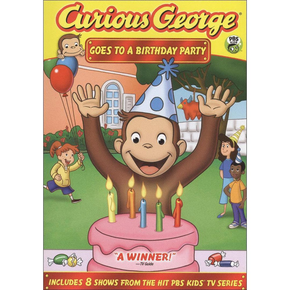 Curious George Goes to a Birthday Party (dvd_video)