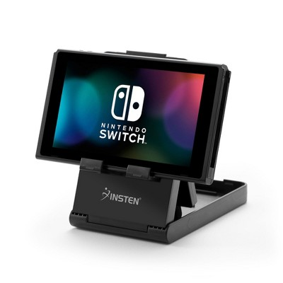 Insten Compact Playstand & Holder for Nintendo Switch Console - Adjustable, Foldable & Anti-slip Accessories