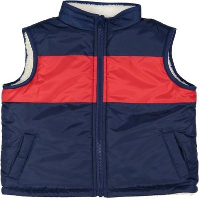 Andy & Evan  Toddler  Color Blocked Reversible Puffer Vest