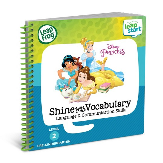 Disney Princess LeapFrog LeapStart 2 Book Combo: Shine With Vocabulary and Celebrate the Seasons image number null