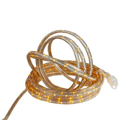 Northlight 10' LED Outdoor Christmas Linear Tape Lighting - Amber