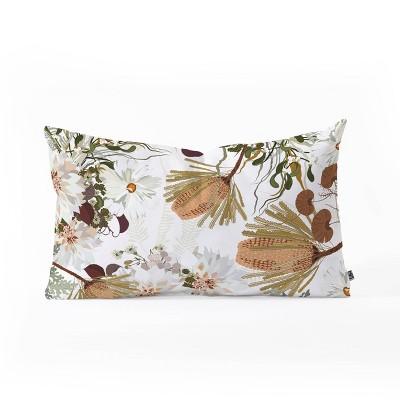 Iveta Abolina Juliette Charm Oblong Lumbar Throw Pillow Brown - Deny Designs