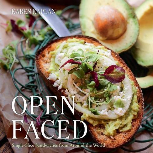 Open Faced - by  Karen Kaplan (Hardcover) - image 1 of 1