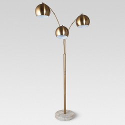 Span 3-Head Metal Globe Floor Lamp - Project 62™