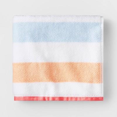 Striped Bath Towel with SILVADUR™ Antimicrobial Technology - Pillowfort™