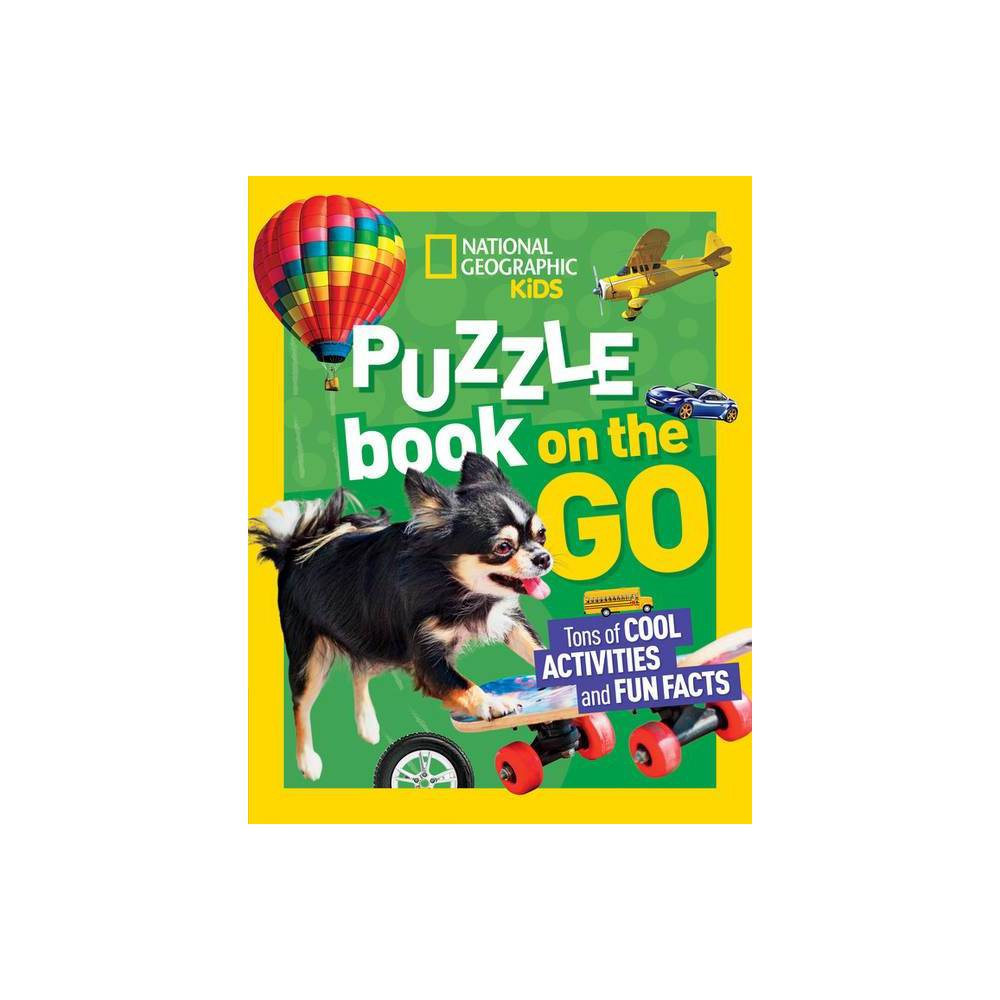 National Geographic Kids Puzzle Book On The Go Paperback