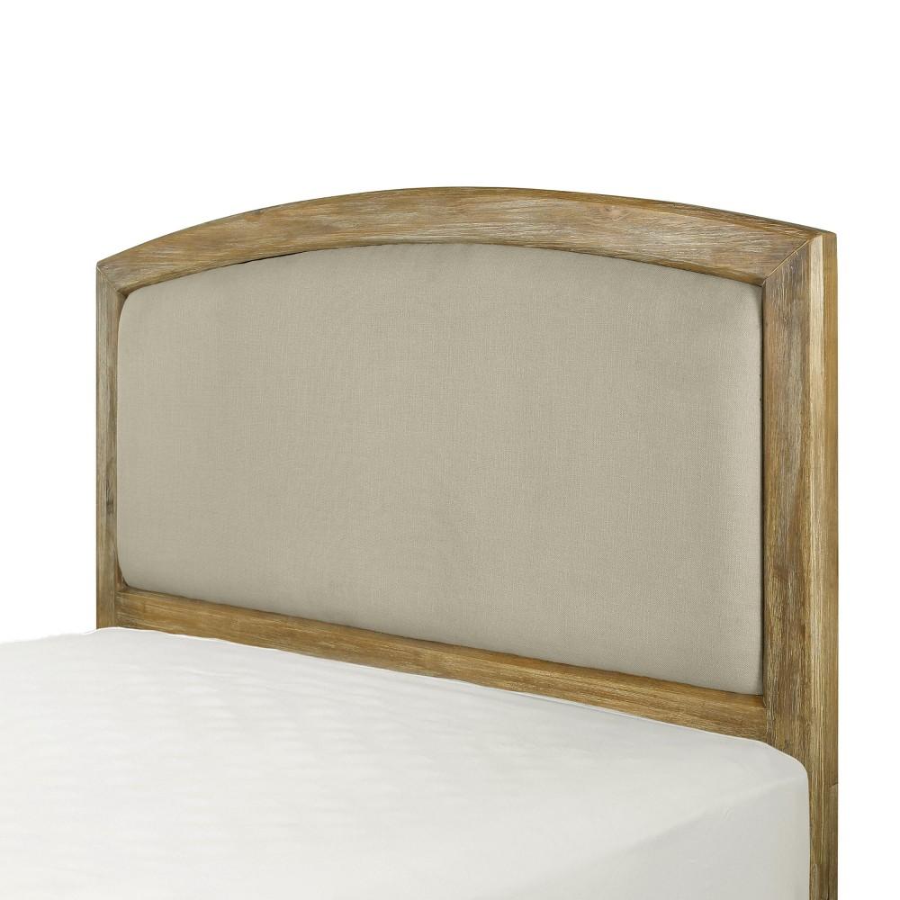 Cambria Full/Queen Adult Headboard Linen Cream - Crosley, Green Off-White