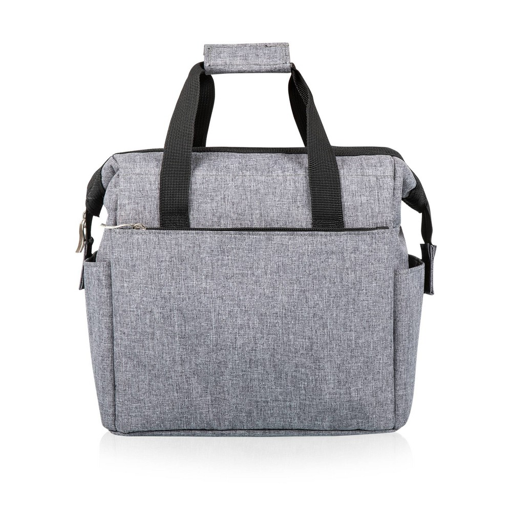 Image of Picnic Time On The Go Lunch Cooler - Heathered Gray