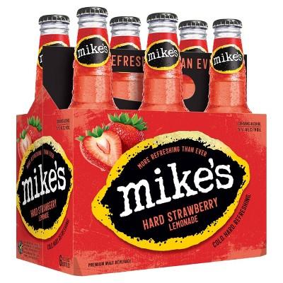 Mike's Hard Strawberry Lemonade - 6pk/11.2 fl oz Bottles