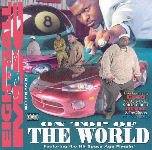 8 ball & mjg - On top of the world [Explicit Lyrics] (CD) - image 1 of 5
