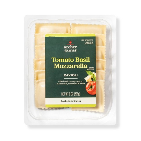 Tomato, Basil and Mozzarella Ravioli - 9oz - Archer Farms™ - image 1 of 1