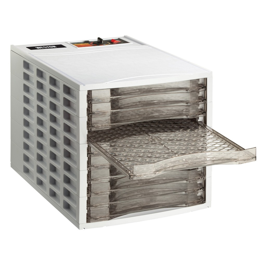 Image of Weston 10 Tray Dehydrator, White