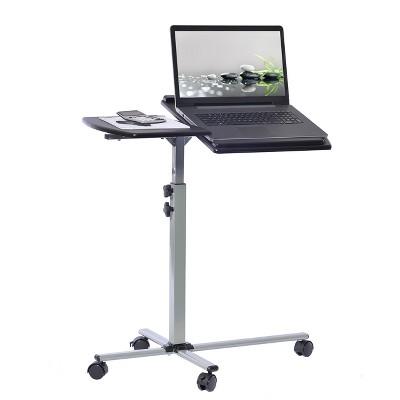 Mobile Laptop Cart Steel Graphite Black - Techni Mobili