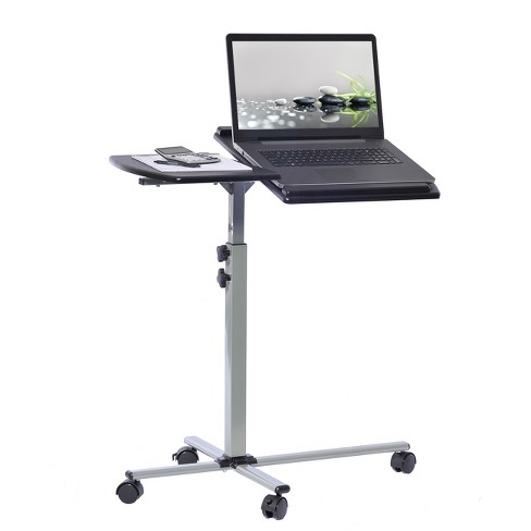 Mobile Laptop Cart Steel Graphite Black - Techni Mobili - image 1 of 4