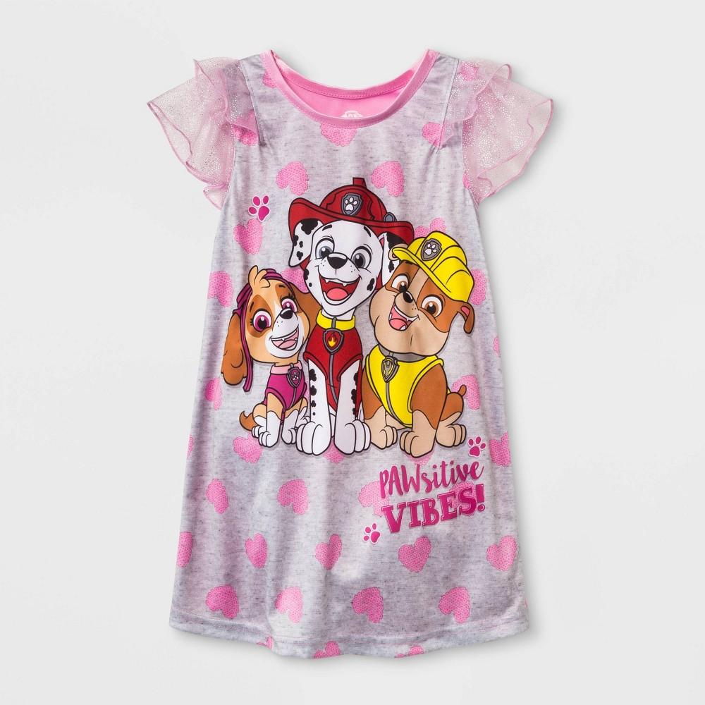 Toddler Girls' Paw Patrol Nightgown - Pink 3T