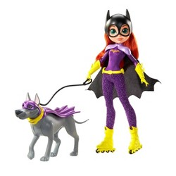 DC Super Hero Girls Batgirl and Ace Doll & Pet