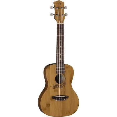 Luna Guitars Bamboo Concert Ukulele Natural
