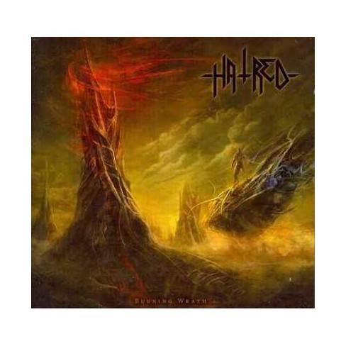 Hatred - Burning Wrath (CD) - image 1 of 1