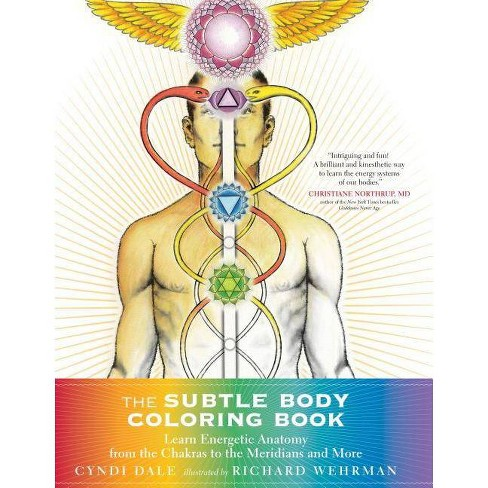 The Subtle Body Coloring Book - by  Cyndi Dale (Paperback) - image 1 of 1