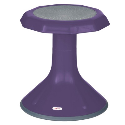 "ECR4Kids 15"" ACE Wobble Stool - Active Flexible Seating Chair for Kids - Classrooms and Home"