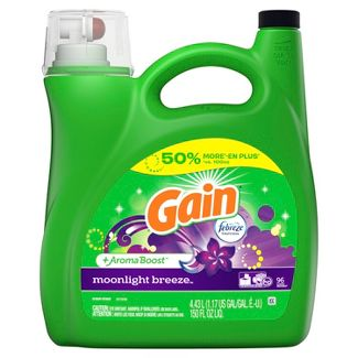 Gain 2X Moonlight Breeze Liquid Laundry Detergent - 150 fl oz