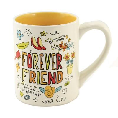 """Tabletop 4.0"""" Forever Friend Mug Simply Mud Enesco  -  Drinkware"""