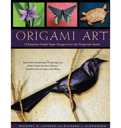Origami Art : 15 Exquisite Folded Paper Designs from the Origamido Studio -  (Hardcover) - image 1 of 1