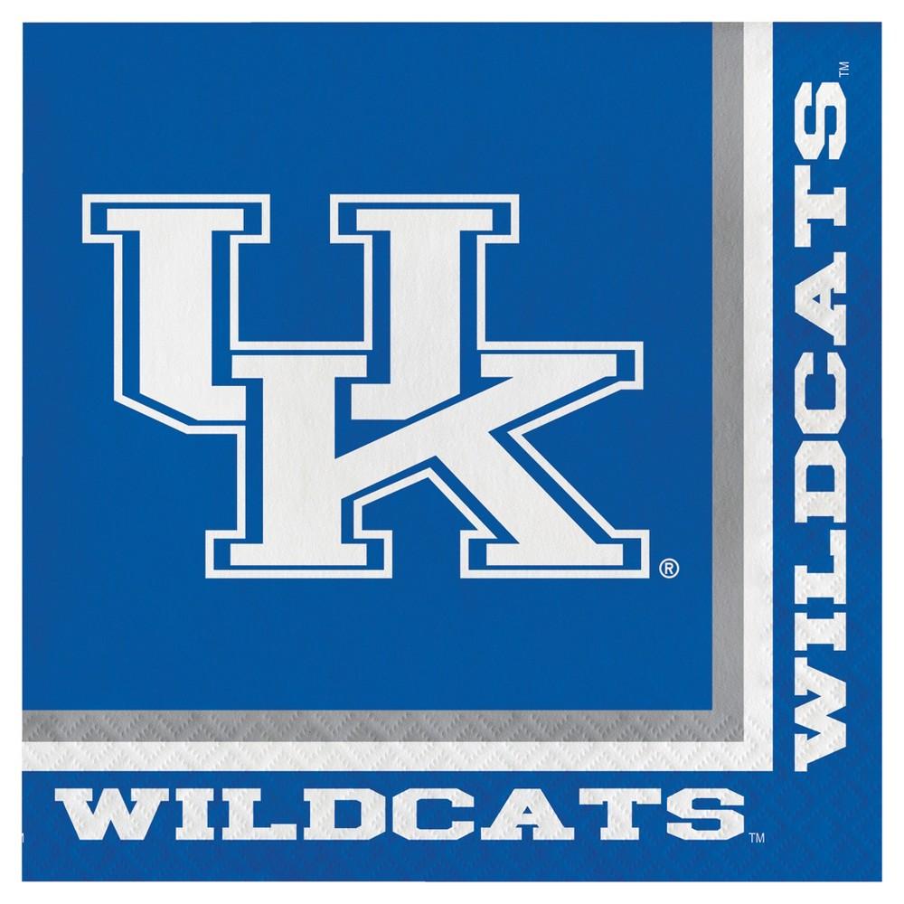 Image of 20ct University Of Kentucky Wildcats Napkins