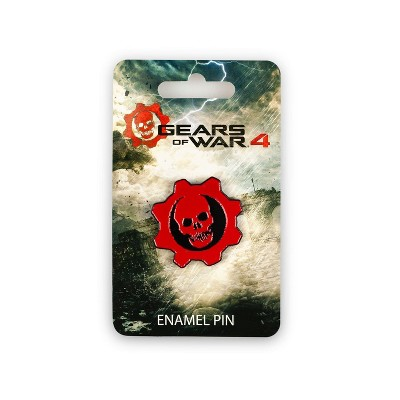 Just Funky Gears of War 4 Crimson Omen Pin   Official Gears Of War Collectible Logo Pin