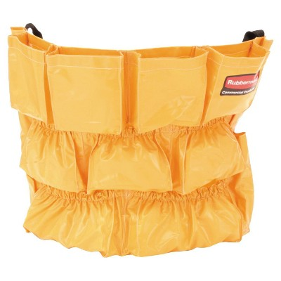 Rubbermaid Brute Caddy Bag 12 Pockets - Yellow