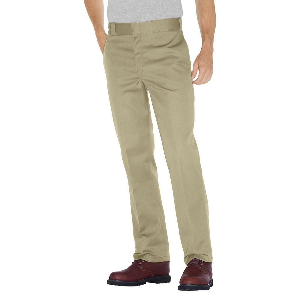 Dickies Men's Big & Tall Original Fit 874 Twill Work Pants- Desert Sand 44x30