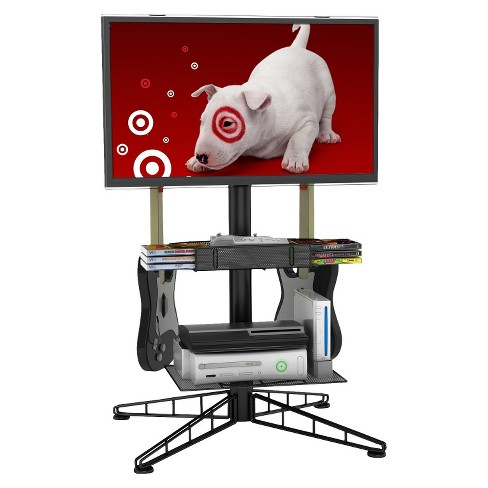Atlantic Black Atlantic Spyder TV/Gaming Stand - image 1 of 4