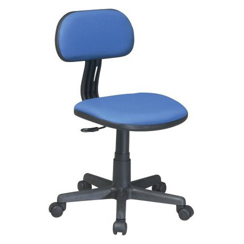 Task Chair Blue - OSP Home Furnishings - image 1 of 4