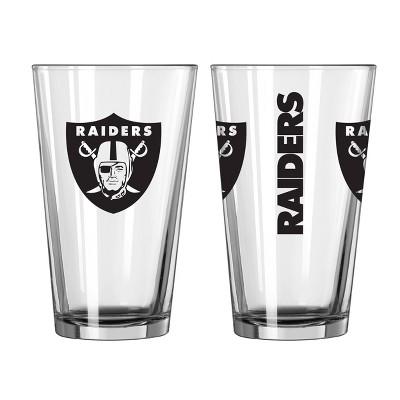 NFL Las Vegas Raiders Gameday Pint Glass - 16oz
