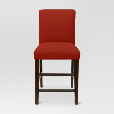 25  Parsons Counter Stool - Sterling Antique Red - Threshold™