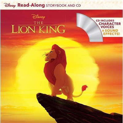 Lion King ReadAlong Storybook PAP/COM (ReadAlong Storybook and CD) - by Disney (Paperback)