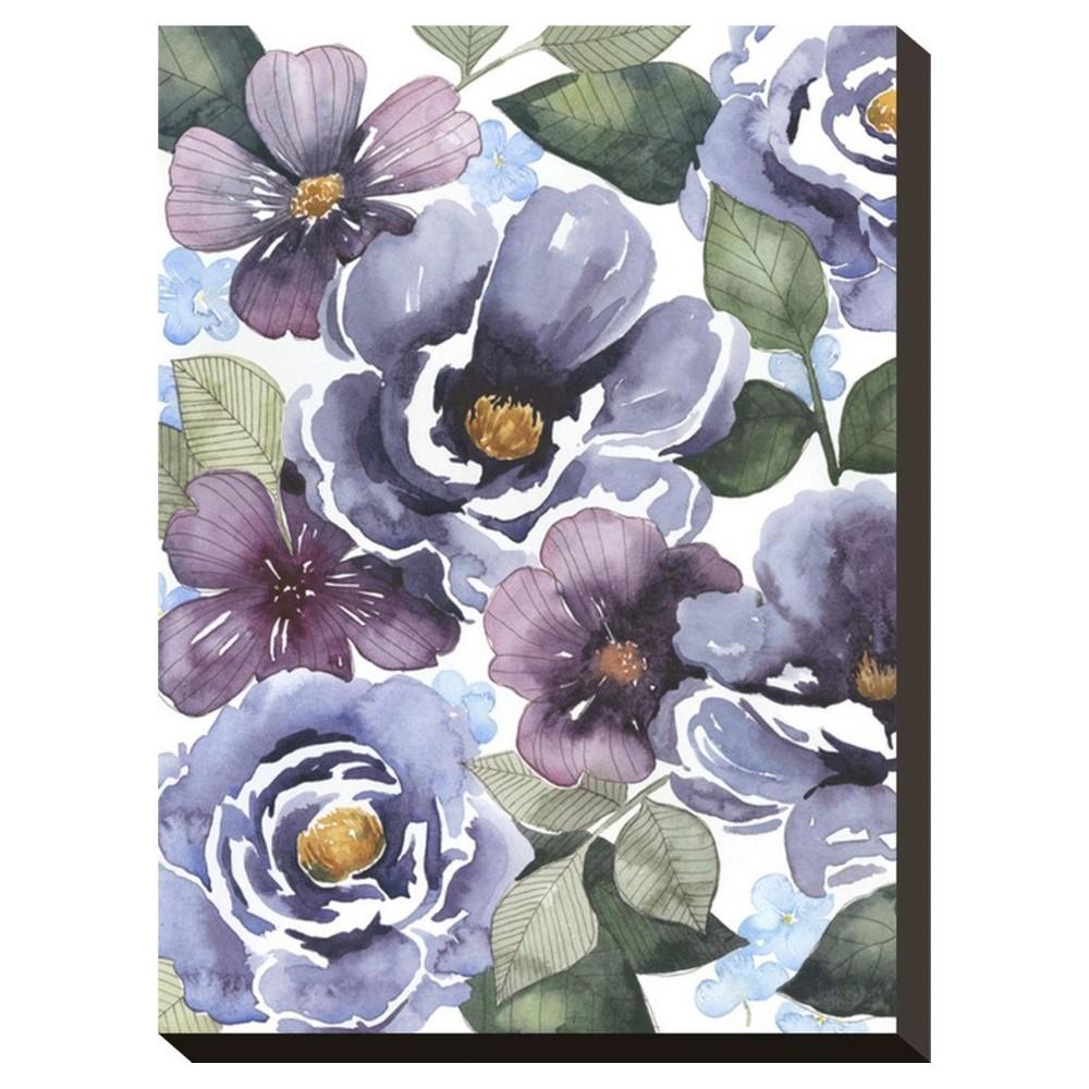 Unframed Wall Canvas Purple 21 X 16 X 2 - Art.com, Multicolored