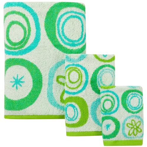 All That Jazz Towel 3pc Set - Creative Bath