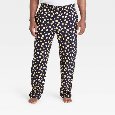 Men's Big & Tall Poplin Pajama Pants - Goodfellow & Co™ Xavier Navy