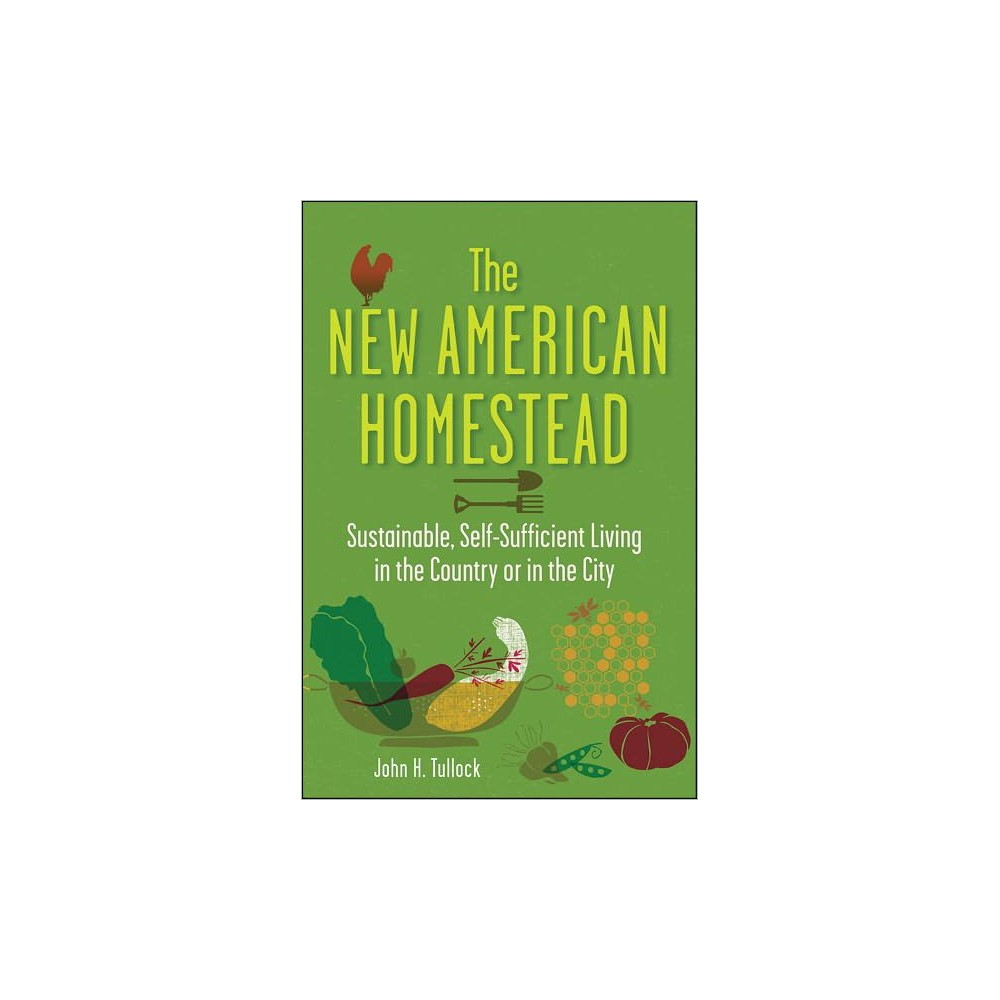 New American Homestead : Sustainable, Self-Sufficient Living in the Country or in the City (Paperback)