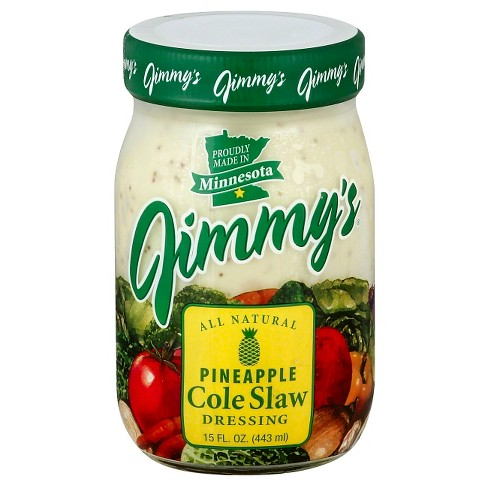 Jimmy's Pineapple Cole Slaw Dressing 15 Fl Oz - image 1 of 1