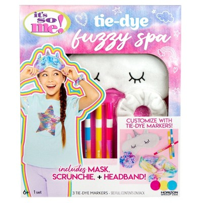 Tie-Dye Fuzzy Spa Kit - It's So Me