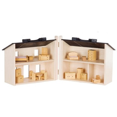 Remley Kids Wooden Folding Doll House