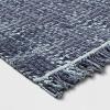 Dyed Jute Woven Rug Indigo - Threshold™ - image 2 of 3