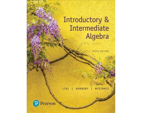 Introductory and Intermediate Algebra (Paperback) (Margaret L. Lial & John Hornsby & Terry McGinnis) - image 1 of 1
