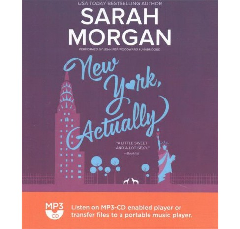 New York, Actually (MP3-CD) (Sarah Morgan) - image 1 of 1